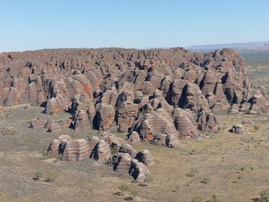 Beaconsfield, Australia: helicopter view of the Bungle Bungles