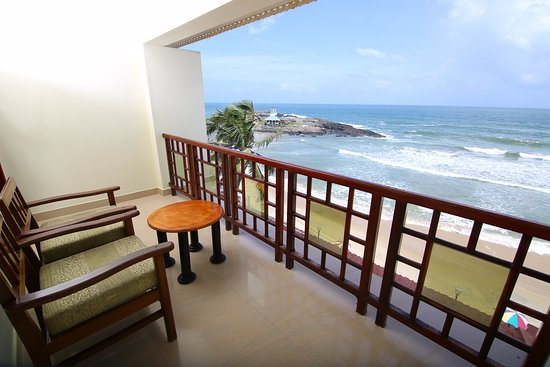 Searock Beach Resort: Balcony
