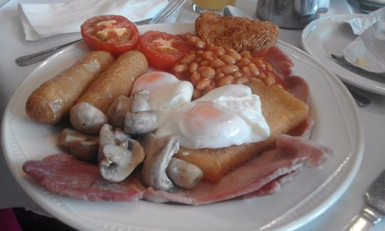The Moorings Hotel: If you like a good breakfast to start the day