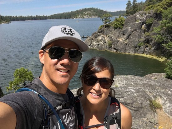 Pinecrest Lake Resort: David Chao and family. Pinecrest 2016!