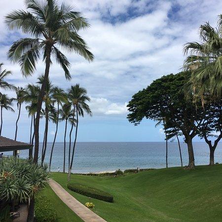 Wailea Elua Village: view to the beach. 100yards...