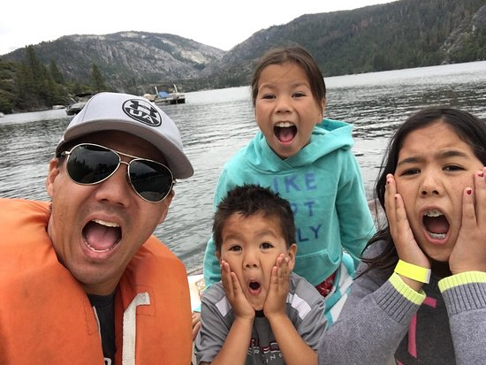 David Chao and family at Pinecrest