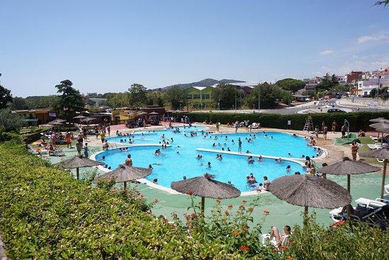 Palafolls, Spanien: Piscina para nadar