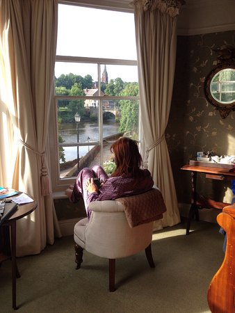 Chester Recorder House: Wife taking in the view