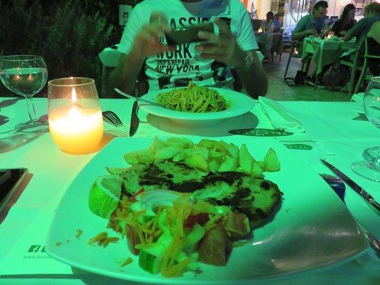 Telesilla Hotel Restaurant: cena