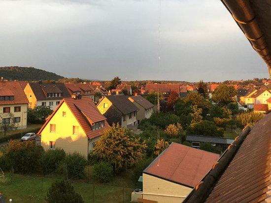 Vienenburg, Tyskland: Flot udsigt fra det værelse vi fik