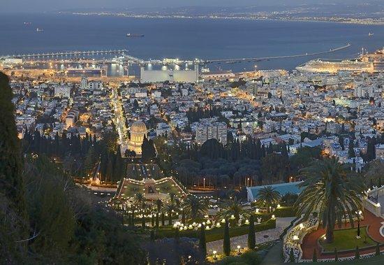 נמל חיפה: PANO