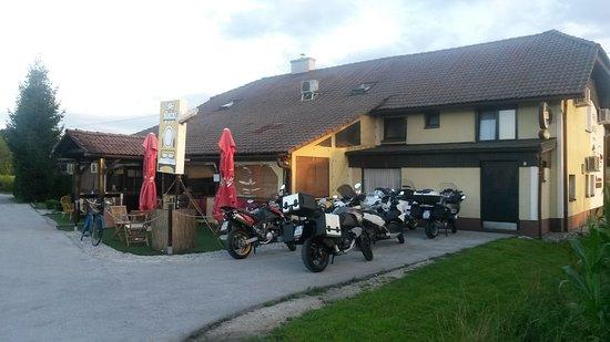 Medvode, Slovenia: Motorcycles overnight stay