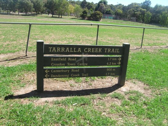 Croydon, Australië: Lovely trail in eastern suburbs