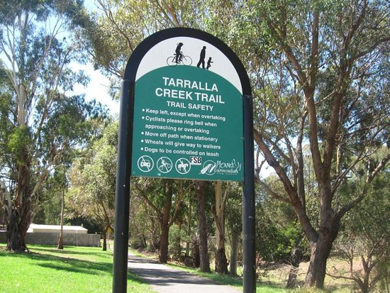 Croydon, Austrália: Lovely trail in eastern suburbs