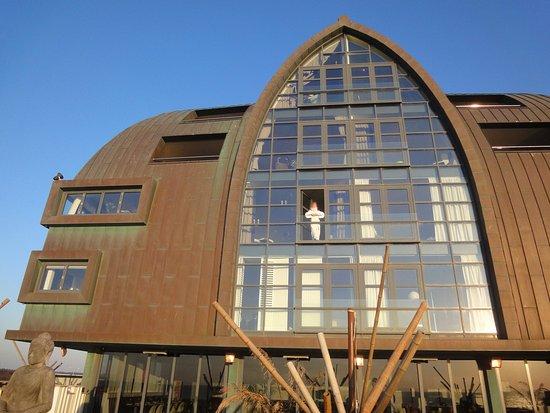 Appartementenhotel Bloemendaal aan Zee: Glasfront im 2.Stock von aussen