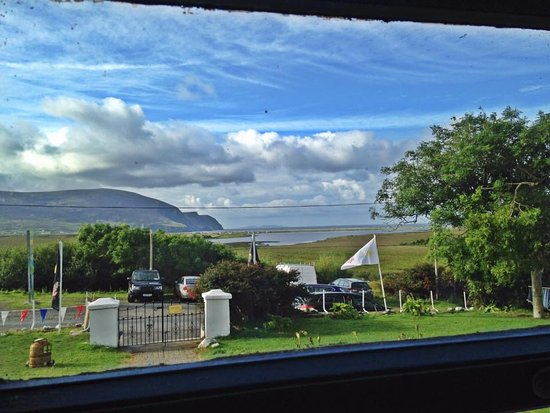 Dugort, Irland: view from the porch