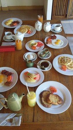 Nefatari Exclusive Villas: Petit déjeuner