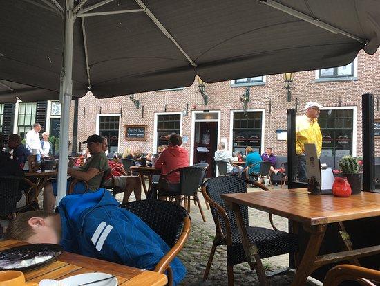 Sloten, Pays-Bas : Der Kuchen war schon aufgegessen...