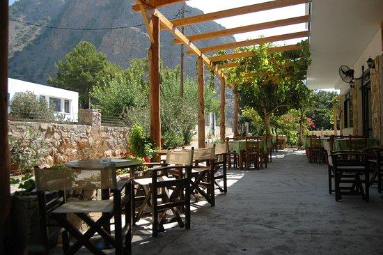 Agia Roumeli, Greece: mountain vew