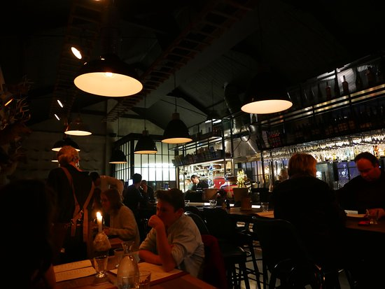 New Plymouth, New Zealand: social kitchen inside