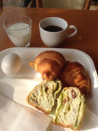 Chikugo, اليابان: 無料の朝食