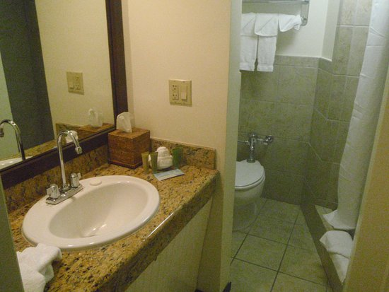 The Equus Hotel: Bathroom from wardrobe area
