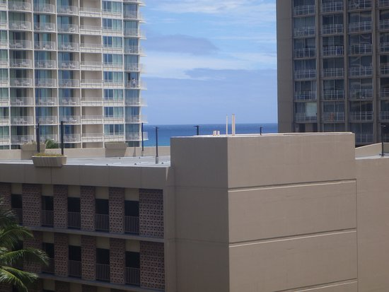 The Equus Hotel: Sea View from Balcony!