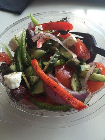 iFeel: Greek salad to take away