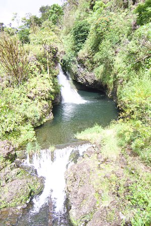 Valley Isle Excursions: One of the many waterfalls