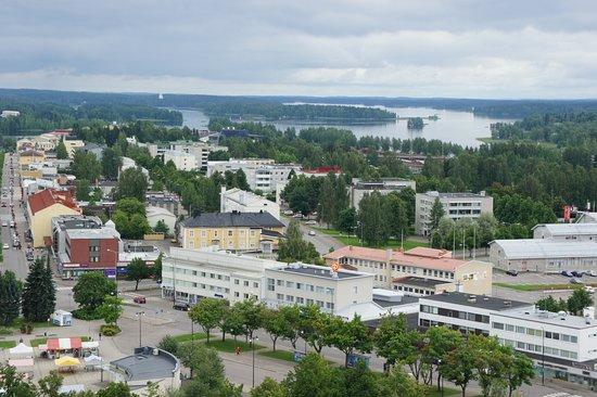Varkaus, Finlandia: вид сверху