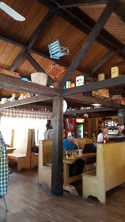Otis, MA: view of restaurant
