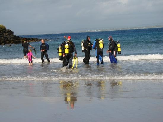 Lahinch, Irlanda: scuba diving ireland