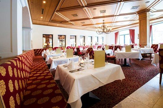 Hotel Edelweiss: Hotelrestaurant