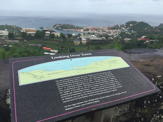 Fort Frederick: View Point and Information Board