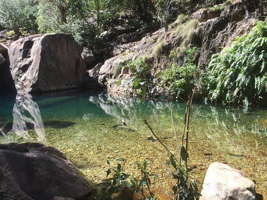 Emma Gorge Resort: Spectacular gorge and cafe in the resort was great but best of all was the staff in the cafe A b