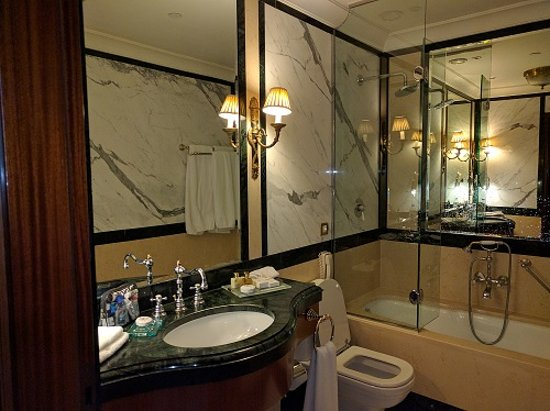 Picture Of Bathroom view of bathroom - picture of hotel grande bretagne, a luxury