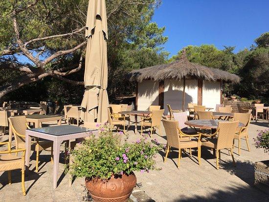Hotel Residence Roccamare: Bar della spiaggia (chiuso alle 9:15 di domenica mattina, alta stagione!!)