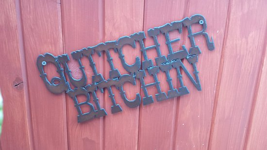 The Farmer's Daughter: Rustic Sign