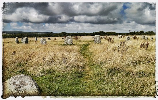 Lamorna, UK: The Merry Maidens