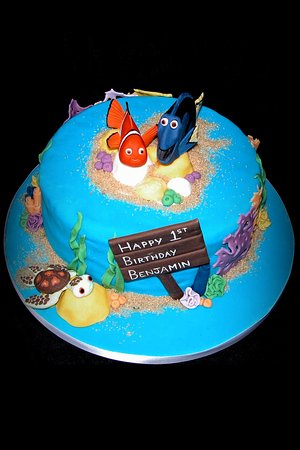 Brilliant Finding Nemo Birthday Cake Picture Of Eat Cake Celebrate Bury Funny Birthday Cards Online Elaedamsfinfo