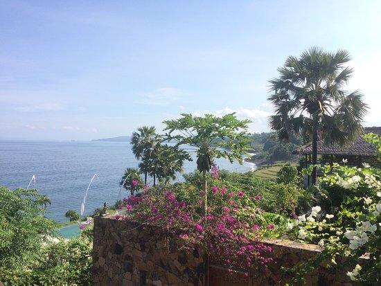 Seraya, Indonesia: Ausblick Sky Villa