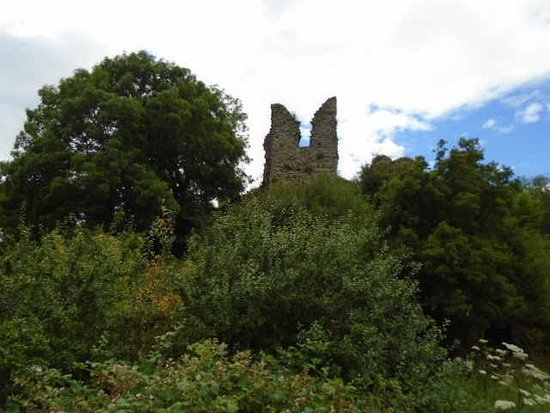 Herefordshire, UK: Wigmore Castle Ruins