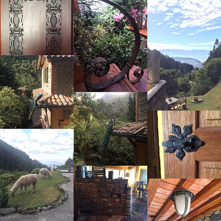 Hacienda Rumiloma: Beautiful location, the lodge and rooms are beautiful designed & appointed with a variety of war
