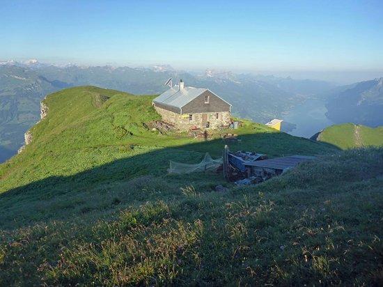 Sevelen, Schweiz: Alvierhütte