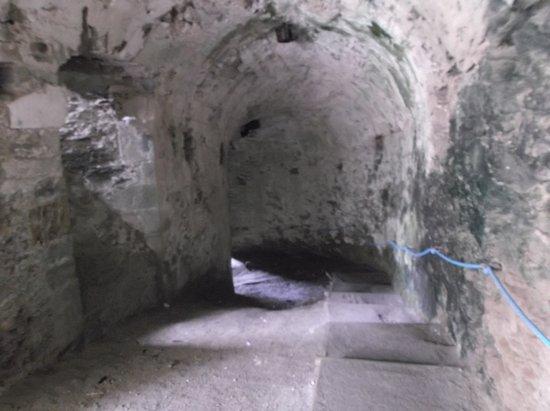 Apremont, Francia: accès secret pour chevalier