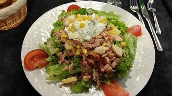 Lormont, France: salade caesar