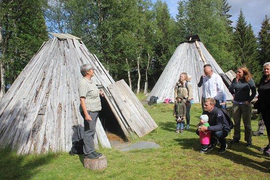 Duved, Swedia: Kvinnan som sköter Samelägret