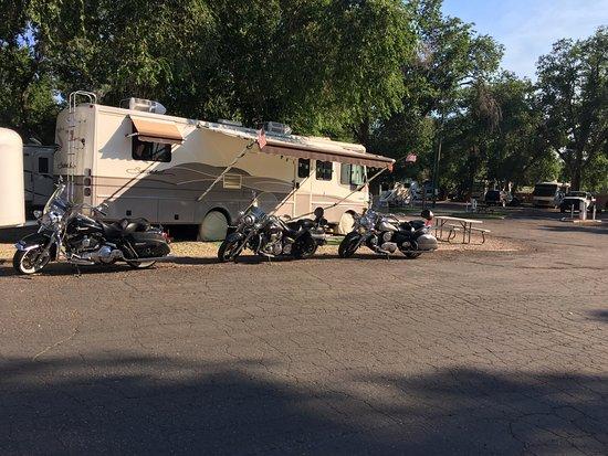 Cedar City KOA: Our spot :-)