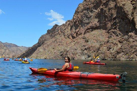 Evolution Expeditions Willow Beach Az Las Vegas Kayaking Water Trail