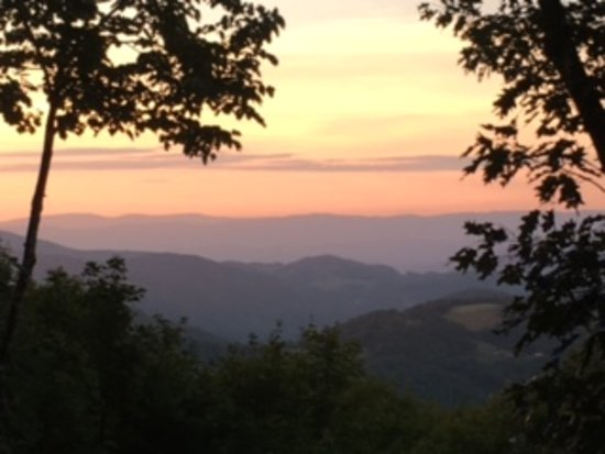 Beech Mountain, NC: Beautiful sunset