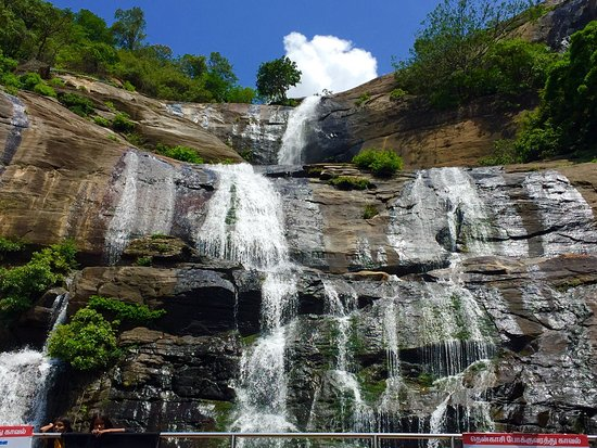 Coutrallam Water Falls From South Tamil Nadu