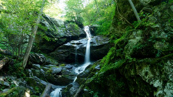 lower Doyles River Falls near Loft Mountain campground