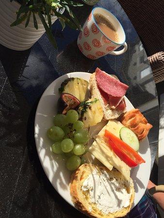 Trosa, Sverige: Finfin frukostbuffé