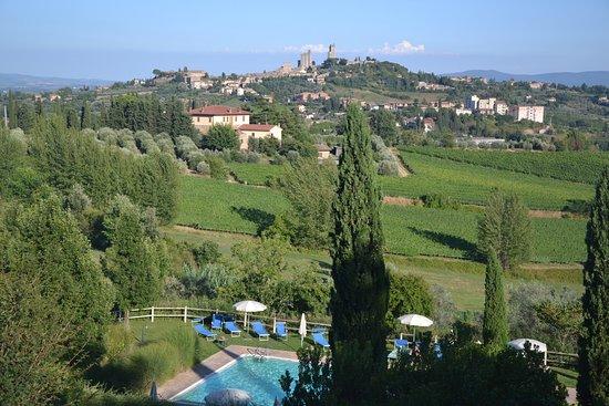 Hotel Villa Ducci: Panorama di S. Giminiano dalla camera